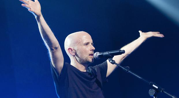 Moby performing (PA)
