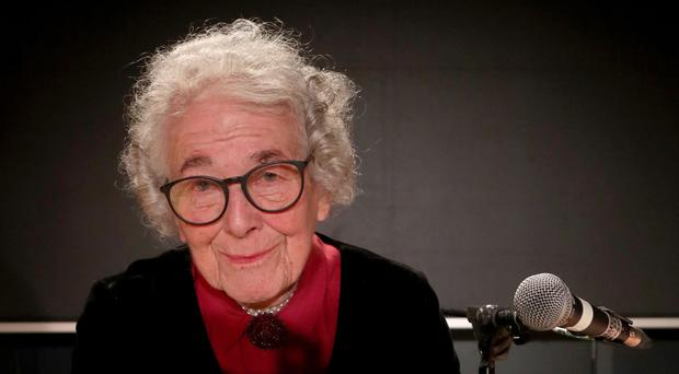 Judith Kerr, author of the Tiger Who Came To Tea, during a reading (Gareth Fuller/PA)