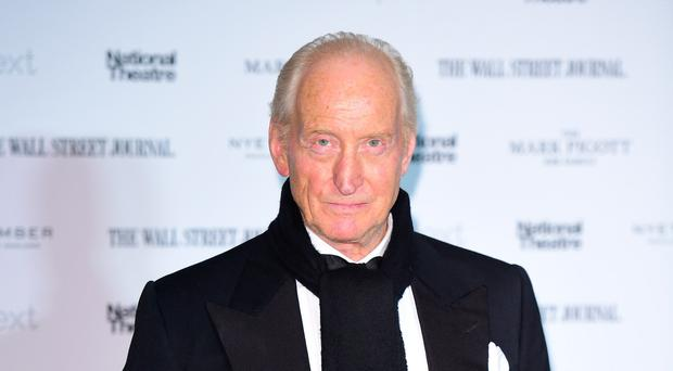 Charles Dance said he watched to find out what happened to the other characters (Ian West/PA)