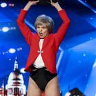 Theresa May impersonator strips off during surprising BGT audition (ITV/Thames/Syco)