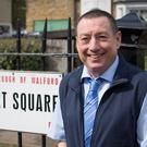 Lee MacDonald will play Terry on EastEnders. (Jack Barnes/BBC)