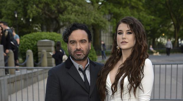 Big Bang Theory star Johnny Galecki has revealed his partner is expecting a baby boy (Evan Agostini/Invision/AP)