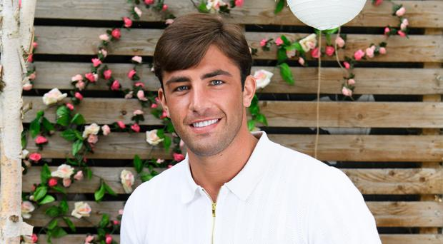 Love Island winner Jack Fincham is among the famous faces on this year's Celebs Go Dating (E4/PA)