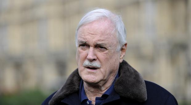 John Cleese sparked an online backlash (Andrew Matthews/PA)