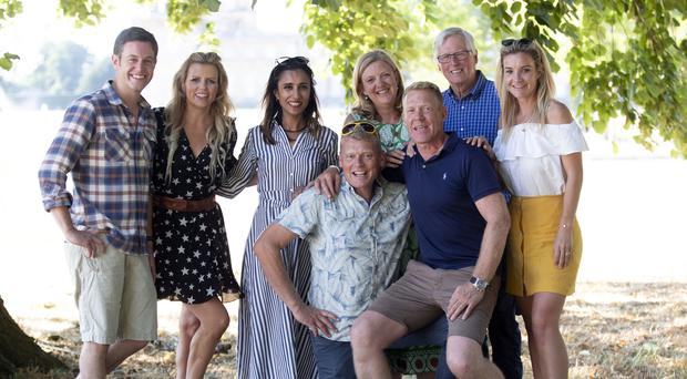 The Countryfile presenting team will continue under the new contract (Steve Parsons/PA)