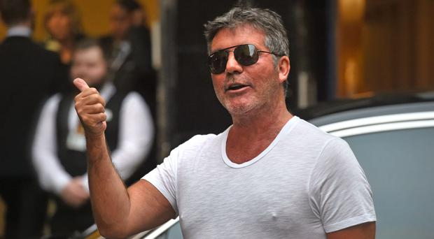 Simon Cowell stormed off stage on Britain's Got Talent (Kirsty O'Connor/PA)