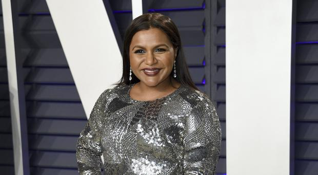 Mindy Kaling also wrote the comedy Late Night (Evan Agostini/Invision/AP)