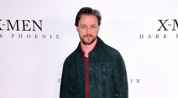 James McAvoy (Ian West/PA)