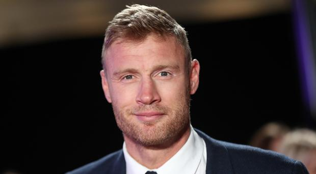 Andrew Flintoff said he is not keen on watching himself on TV (PA)