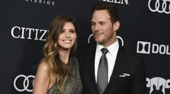 Katherine Schwarzenegger wished her new husband Chris Pratt a happy birthday with loving post on Instagram (Jordan Strauss/Invision/AP)