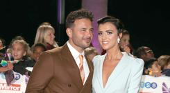 Lucy Mecklenburgh and Ryan Thomas get engaged in Italy (Steve Parsons/PA)