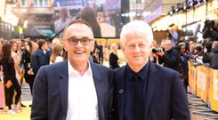 Danny Boyle and Richard Curtis at the UK premiere of Yesterday (Ian West/PA)