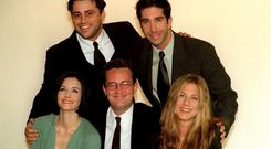 Stars of the American sitcom Friends (Neil Munns/PA)