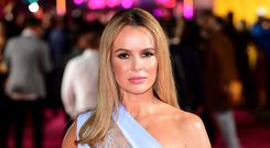 Amanda Holden has responded to claims of a rift between her and Phillip Schofield (Ian West/PA)