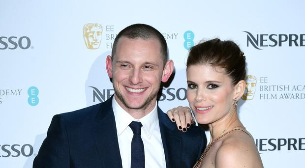 Kate Mara is married to Jamie Bell (Ian West/PA)