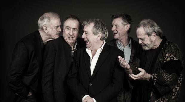John Cleese, Eric Idle, Terry Jones, Michael Palin and Terry Gilliam (Andy Gotts)