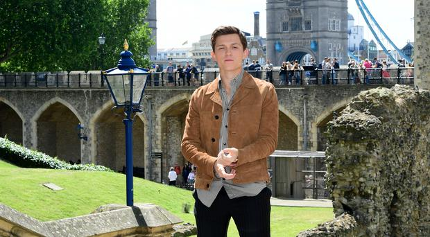 Tom Holland has revealed his love for last year's series of Love Island (Ian West/PA)