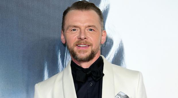 Simon Pegg spent time at The Priory and said he came out feeling better immediately (Ian West/PA)