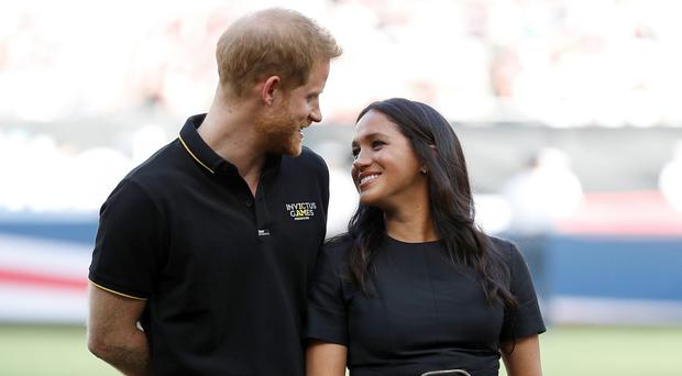 The Duke and Duchess of Sussex are due to attend the event in London. (Peter Nicholls/PA)
