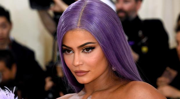 Kylie Jenner has spoken about her anxiety battle and how she 'lost' herself in the public eye (Jennifer Graylock/PA)