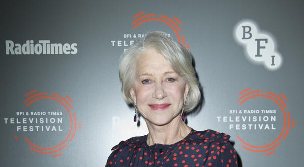 Dame Helen Mirren has backed calls to save free TV licences for over-75s (Isabel Infantes/PA)