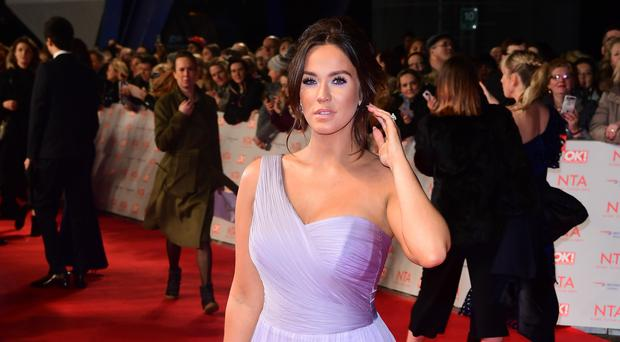 Vicky Pattison said she had become a 'shadow of my former self' around the time of her arrest (Ian West/PA)