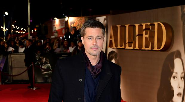 Brad Pitt attending the Allied UK Premiere at Odeon Leicester Square, London (Ian West/PA)