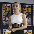 Scarlett Johansson has discussed the upcoming superhero film Black Widow (Chris Pizzello/Invision/AP)