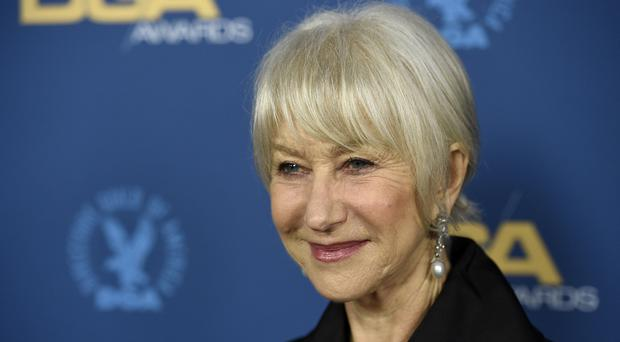 Dame Helen Mirren attended the 71st annual DGA Awards at the Ray Dolby Ballroom in Los Angeles (Chris Pizzello/Invision/AP)