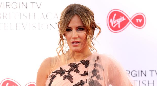 Caroline Flack will host the Love Island final (Isabel Infantes/PA)