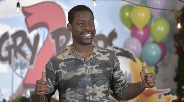Sterling K Brown said he was keen to make something he could show his sons without raising eyebrows (Richard Shotwell/Invision/AP)