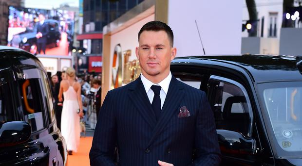 Channing Tatum said he has been in therapy (Ian West/PA)
