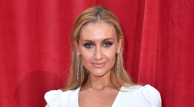 Former Coronation Street star Catherine Tyldesley is among the Strictly contestants this year (Matt Crossick/PA)
