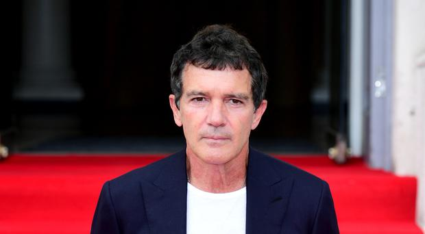 Antonio Banderas attending the premiere of his new film Pain and Glory (Ian West/PA)