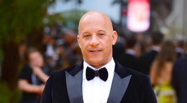 Vin Diesel is filming Fast And Furious 9 (Ian West/PA)