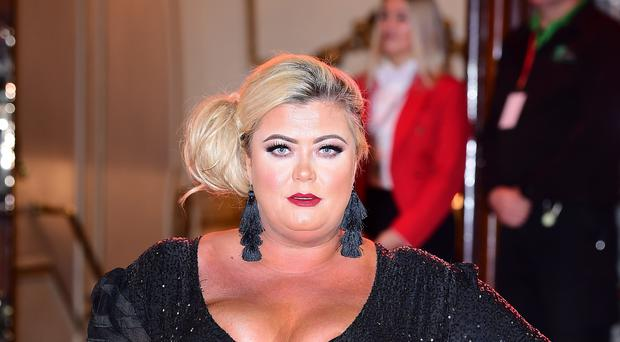 Gemma Collins has urged young girls to be 'free' (Ian West/PA)