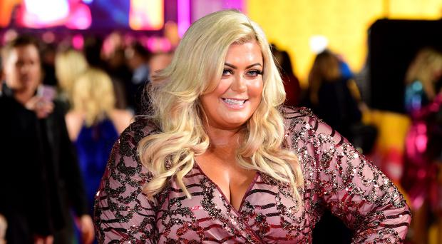 Gemma Collins says people should not worry about their image on Instagram (Ian West/PA)