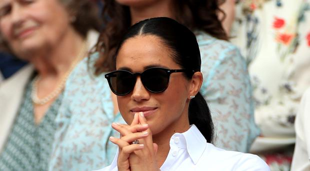 The Duchess of Sussex previously starred in US legal drama Suits (Mike Egerton/PA)