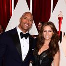 Dwayne 'The Rock' Johnson and Lauren Hashian got married over the weekend (Ian West/PA)