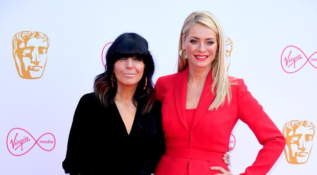 Claudia Winkleman (left) and Tess Daly (Ian West/PA)