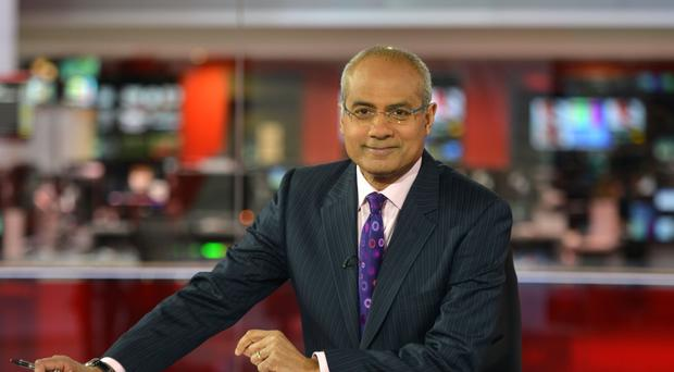 George Alagiah (Jeff Overs/BBC)