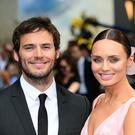 Sam Claflin and Laura Haddock (Ian West/PA)