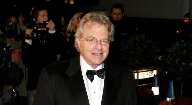 Jerry Springer defends duty of care practices on his tabloid talk show (Anthony Devlin/PA)