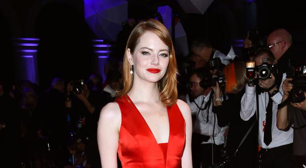 Disney has shared the first picture of Emma Stone as Cruella de Vil (Matt Crossick/PA)