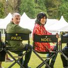 Bake Off presenters Prue Leith, Paul Hollywood, Noel Fielding and Sandi Toksvig (C4/Love Productions/Mark Bourdillon/PA)