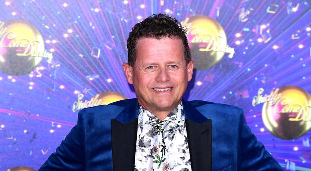 Mike Bushell arriving at the red carpet launch of Strictly Come Dancing 2019, held at BBC TV Centre in London, UK. (Ian West/PA)