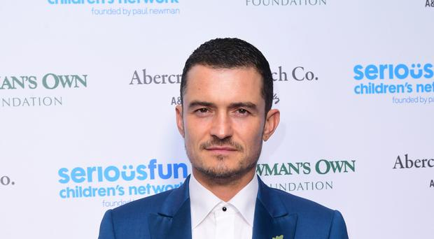 Orlando Bloom achieved early success. (Ian West/PA)