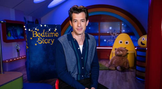 Mark Ronson reading a CBeebies bedtime story (BBC)