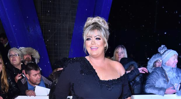 Towie star Gemma Collins attending the National Television Awards 2019 (Matt Crossick/PA)