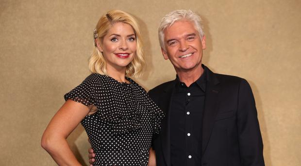 Holly Willoughby and Phillip Schofield (Yui Mok/PA)